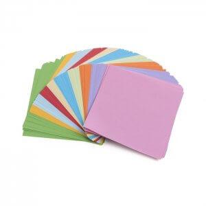 Renkli Origami Kağıtları 100 Adet