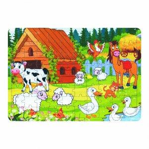 Yapboz – 80 Parça – Mutlu Hayvanlar